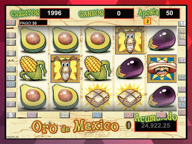Jogo Oro de México Caça-Níqueis