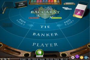 Baccarat Pro Tela