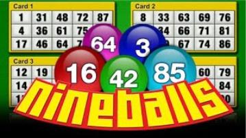 Bingo Nine Balls 75 Vídeo Bingo