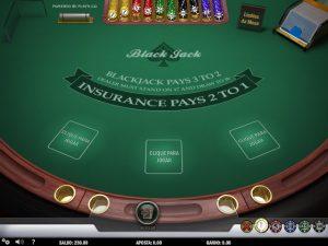 Blackjack Imagem do Jogo