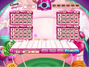 Candy Bingo 3D Imagem do Jogo