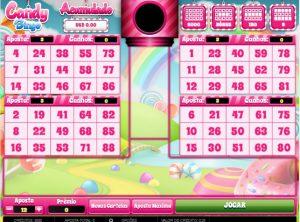 Candy Bingo Vídeo Bingo Imagem do Jogo