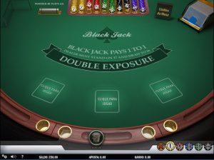 Double Exposure Blackjack Imagem do Jogo