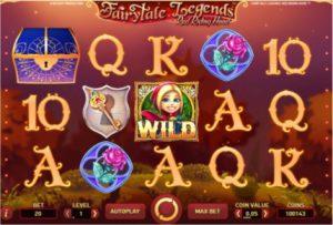 Fairytale legends Red Riding Hood Vídeo Caça-Níqueis Tela