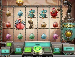 EggOMatic Vídeo Caça-Níqueis imagem do jogo