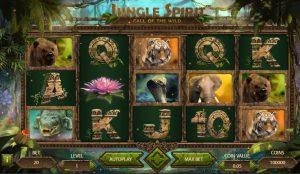 Jungle Spirit Call of the Wild Vídeo Caça Níqueis Imagem do Jogo