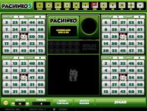 Pachinko 5 Vídeo Bingo Imagem do Jogo