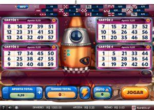 Planet 67 Vídeo Bingo Imagem do Jogo