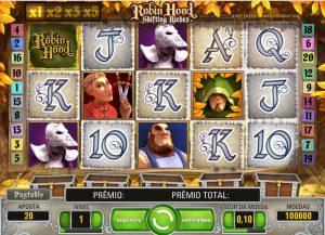 Robin Hood shifting riches Vídeo Caça Níquel Imagem do Jogo