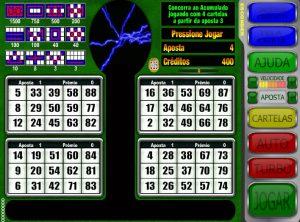 Silverball Premium Vídeo Bingo Imagem do Jogo
