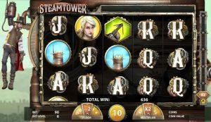 Steam Tower Vídeo Caça Níquel Imagem do Jogo