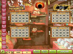 Super Pachinko Plus Vídeo Bingo Imagem do Jogo
