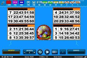 Tacomania Vídeo Bingo Imagem do Jogo