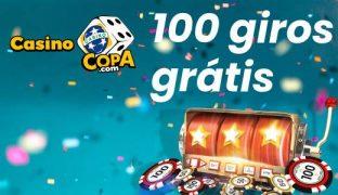 Casino Copa oferece 100 giros grátis