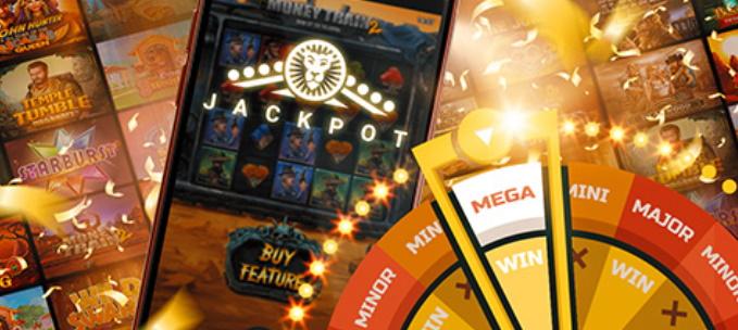 Concorra a R$23 milhões em 50 slots com o novo LeoJackpot do LeoVegas